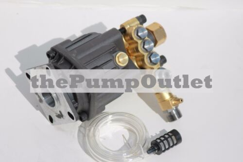 "3000 PSI Axial Pressure Washer Replacement Pump 3/4"" Horizontal Shaft Mi-T-M"