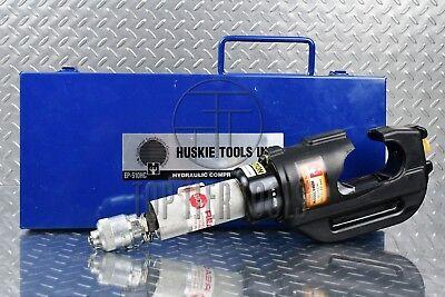 Huskie Ep-510-hc 12 Ton Hydraulic Crimper Head Crimping Tool U-die