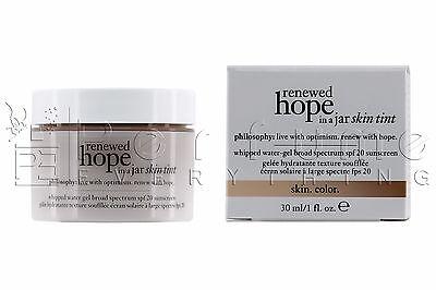 philosophy Renewed Hope in a Jar Skin Tint shade 7.5 honey
