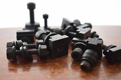 Lot T-slot Nut Small Machine Tool 11pcs Plus Nuts Stud Rod