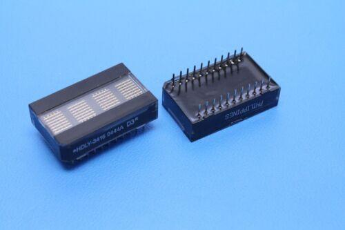 AGILENT HDLY-3416 4-Character, 5x7 Matrix, 6.9mm Yellow Alphanumeric LED Display
