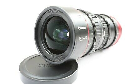 Canon CN-E 15.5-47mm T2.8 L S Wide-Angle Cinema Zoom Lens in EF Mount CNE
