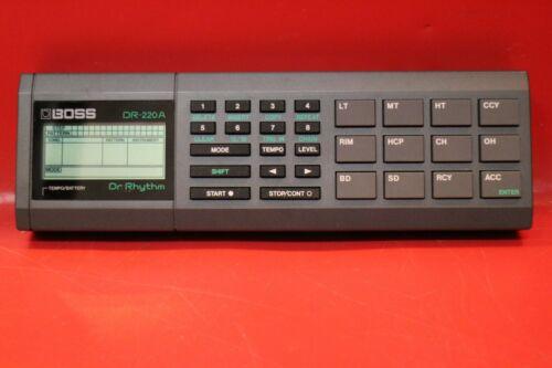 USED BOSS DR-220 DR 220 Dr.Rhythm Drum Machine Sequencer U1175 210304