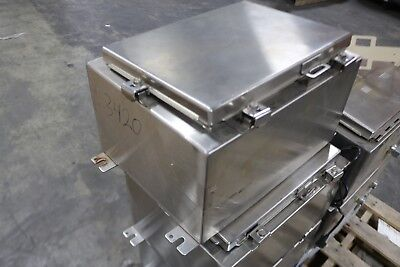 Hoffman 16 X 12 X 8 Stainless Steel Control Panel Enclosure