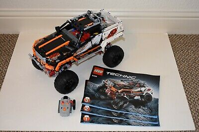 LEGO 9398 - Technic 4X4 Crawler with Power Functions!  100% Complete!!