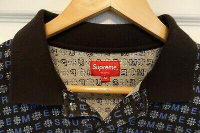 Authentic Supreme Polo Shirt Mens Size Medium