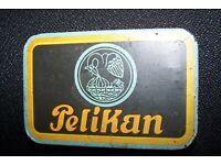 Blechschild Nostalgieschild Pelikan Füllhalter Füllfederhalter 20x30cm