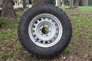STEEL RIM AND TYRE