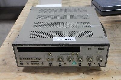 Anritsu Model Me453m Microwave System Analyzer Transmitterreceiver Working
