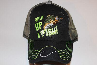 Anglerkappe Cap Kappe Mütze Camouflage Fishing Angler Mütze Angeln # 92