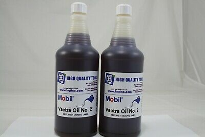 Mobil Vactra Way Oil 2 For Bridgeport Haas Mills Hardinge Lathes 2 Quarts