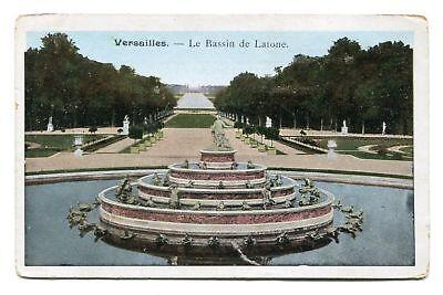 CPA-Lot de 2 cartes postales - France - Versailles - Fontaines (CP259)