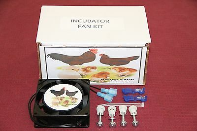 Circulated Air Fan Kit For The Little Gianthovabatorfarm Innovators Incubator