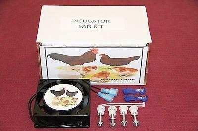 Circulated Air Fan Kit For The Little Gianthovabatorfarm Innovators Incubator