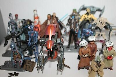 "Star Wars 3.75"" Action figures THE CLONE WARS - ATOC -USED - MOST COMPLETE -RARE"