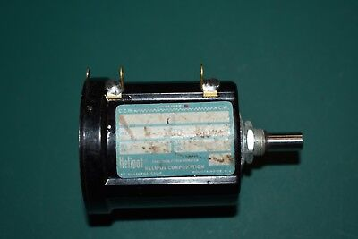One Helipot Nos 100 Ohm Precision Multi-turn Potentiometer