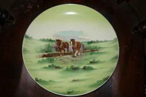 DRAFT HORSE PLATE  SHIRE, SUFFOLK PUNCH,BELGIAN