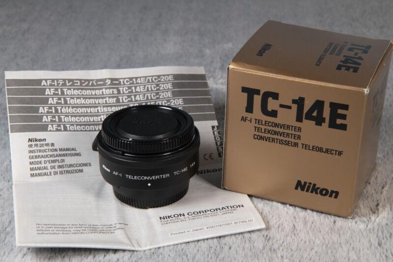 Nikon TC-14E AF-I Teleconverter 1.4x AF-S with Box