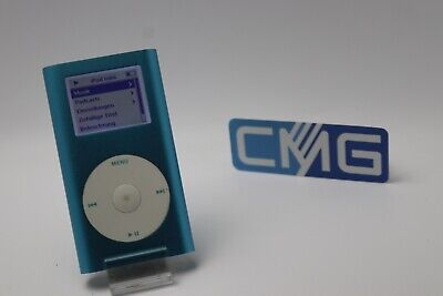 Apple iPod mini 2. Generation Blau (4GB) 2G MP3 player ( Rarität 2003) #M27 2. Generation 4gb Mp3-player