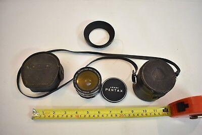 Nice Vintage Clean Pentax Asahi Super-Takumar 1:3.5 28mm Camera Lens Japan - USA