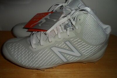 01f99a42a  99.99 NWT 2018 NEW BALANCE Burn X Mid-Cut lacrosse WBURNXMW Cleat Women 8 B