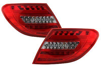 LED-Rücklichter für Mercedes Benz C-Klasse W204 07-12 Facelift Design..