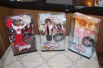Pink Label Barbie Grease set of 3