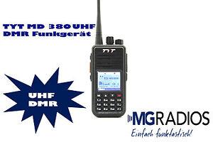 Tytera MD 380 UHF DMR Amateurfunkgerät Gerät 04