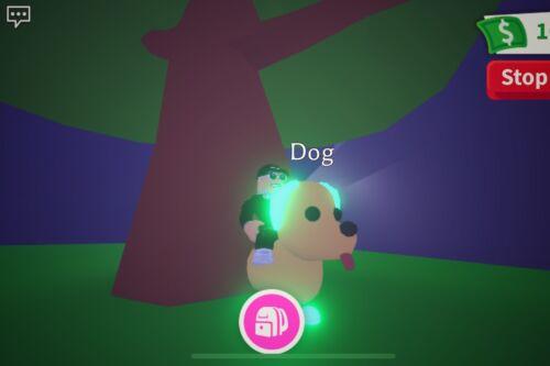 Adopt Me Mega Neon R Dog Rare Item  - $6.00