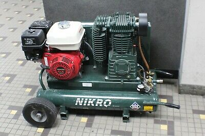 Nikro 860544 9hp Honda 2 Stage 175 Psi Gasoline Compressor Only