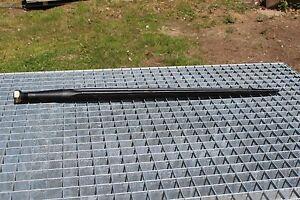 Frontladerzinken Großballenzinken Ballenzinken Spieß 800 mm  Gewinde M22x1,5 mm