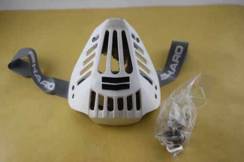 HARO Bicycle Helmet protective Face Mouth Guard White 1980s Old School bmx NOS