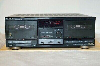 SONY TC-V901 vintage Hi-Fi double cassette TAPE deck Dolby B,C, HX 1980's JAPAN
