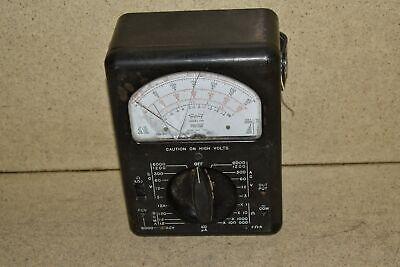 Triplett Model 630 Vintage Volt Meter