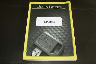 John Deere 420 430 Tractor Parts Catalog Manual