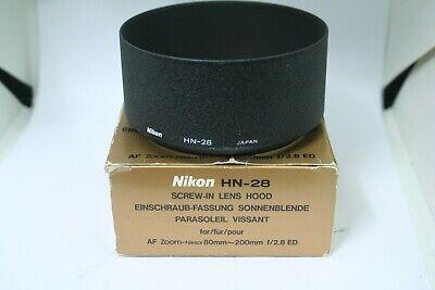 NIKON  HN-28 SCREW-IN LENS HOOD