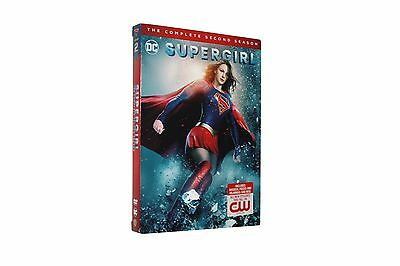 Supergirl: The Complete Second Season 2  (DVD, 2017, 5-Disc Set) US seller