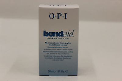 BB010 - OPI Bond Aid pH Balancing Agent BondAid Nail Treatment 1 Fl. Oz. - NEW