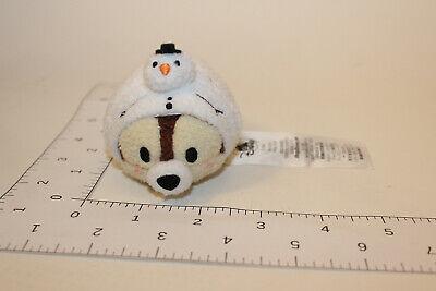 Disney Tsum Tsum Christmas Holiday Advent Calendar Chip dressed as Snowman