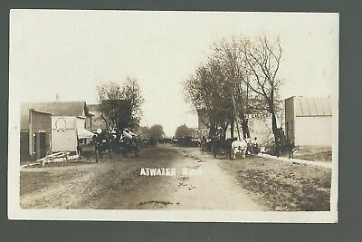Atwater MINNESOTA RP c1910 MAIN STREET Stores nr Willmar Litchfield Grove City