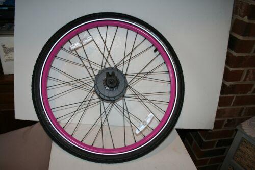 New Enviolo CVP Internally Geared Hub 36 Hole Solid Axle Wheel and Schwalbe Tire