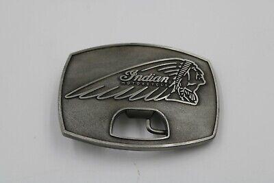 Vintage Indian Motorcycle Belt Buckle - Owners Buckle - Bottle Opener mint