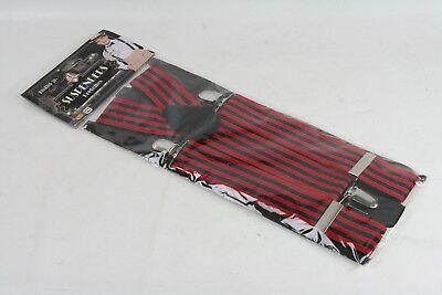 20s Suspenders (New Forum Novelties Men's Roaring 20's Adult Striped Suspenders)