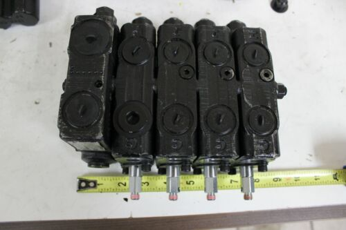 Husco 5000CC-D40 Hydraulic Control 4 Spool Valve New