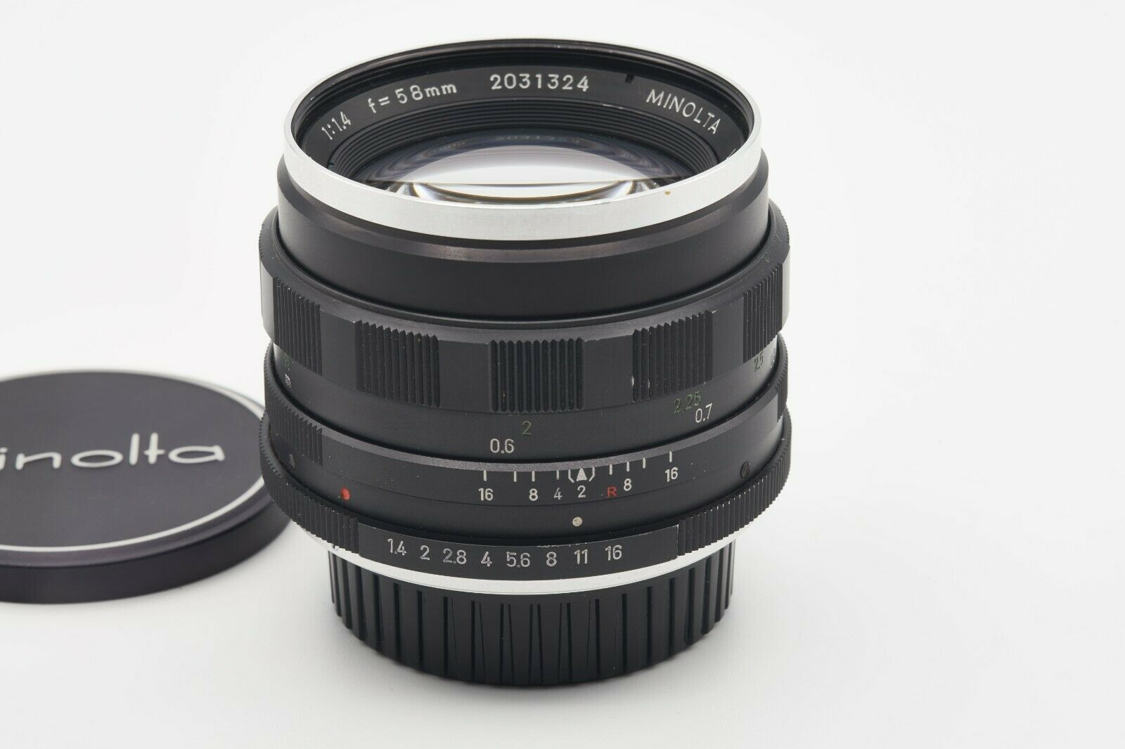 Minolta Auto Rokkor-PF 58mm F1.4 Manual Focus Prime MD/MC Mount - $61.95