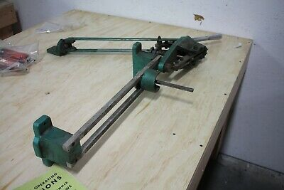 Foley Model 359 Circular Saw Blade Tooth Set Setter Trip Hammer