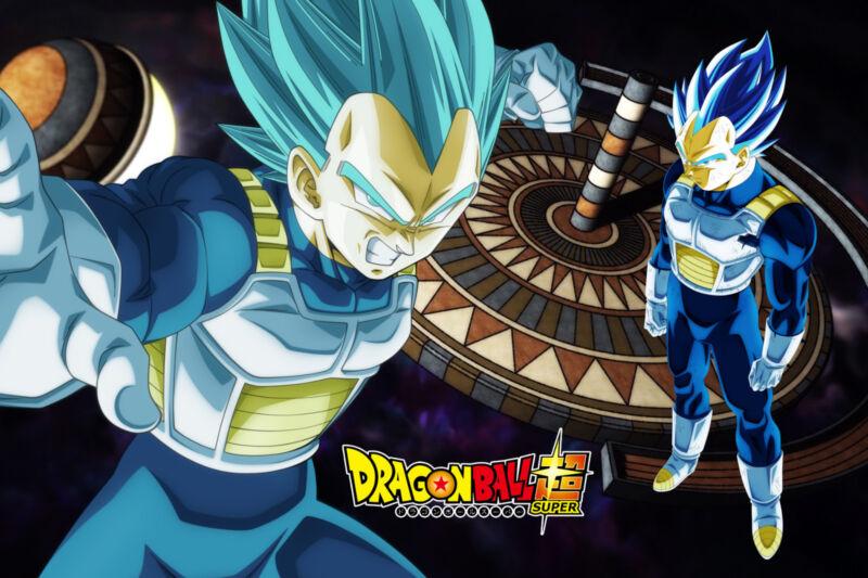 Dragon Ball Poster Vegeta 12in x 18in Free Shipping