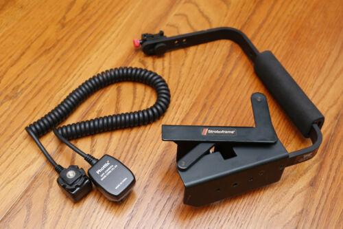 Stroboframe CameraFlip Flash Bracket Phottix Off-Camera TTLSync Cord OC-E3 Canon