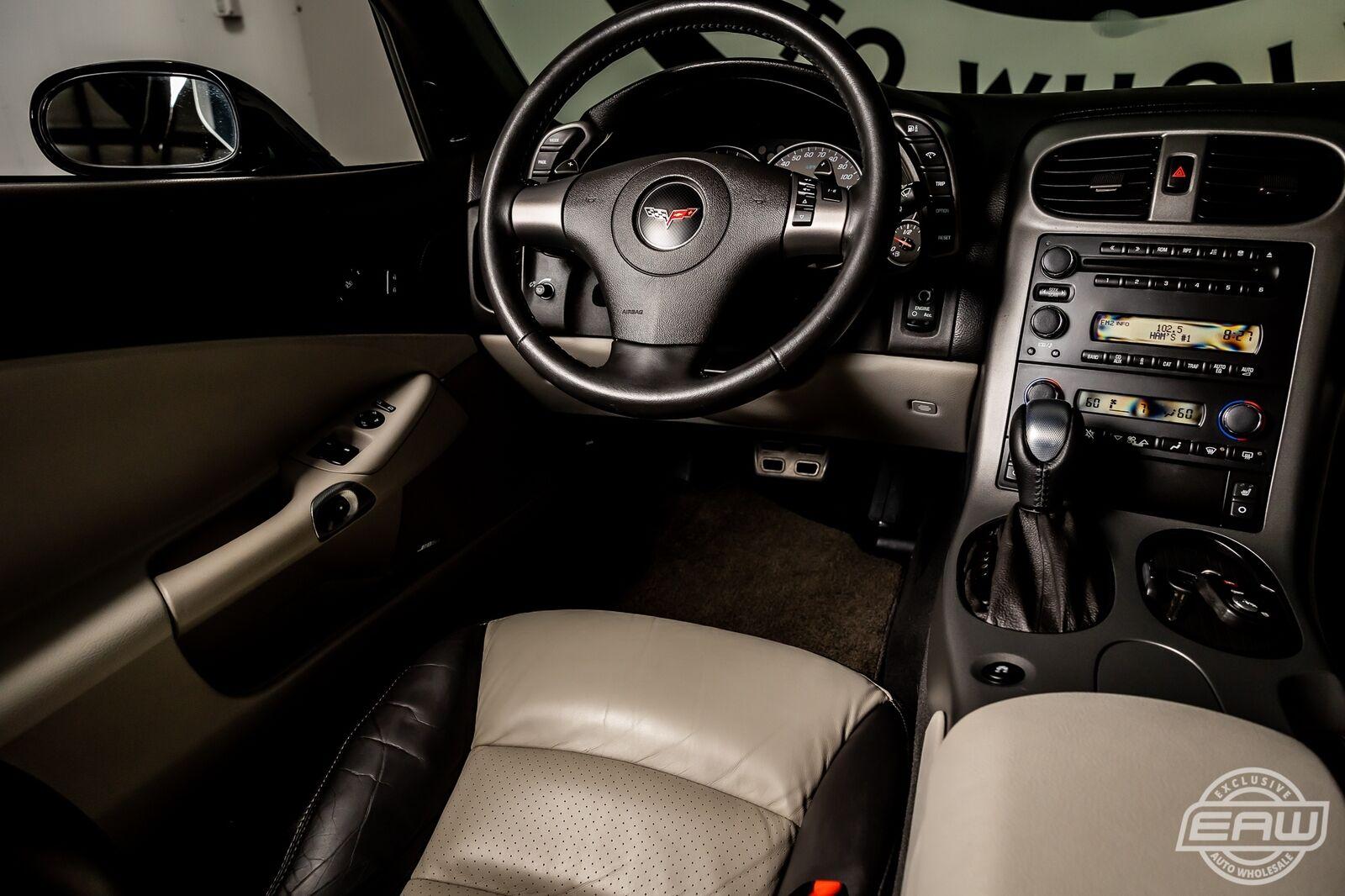 2007 Black Chevrolet Corvette Coupe  | C6 Corvette Photo 7