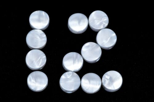 Gotoh Pearloid Mandolin Machine Tuner Buttons One Dozen